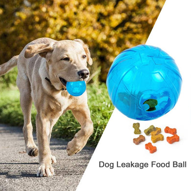 Funny Treat Ball For Dog Cat Eco-friendly Pure Natural Rubber Resistant Teeth Bite Leakage Food