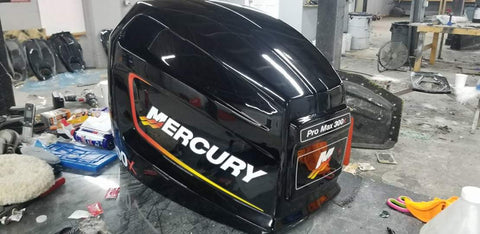Mercury 300x Alien Direct Replacement Performance Cowling
