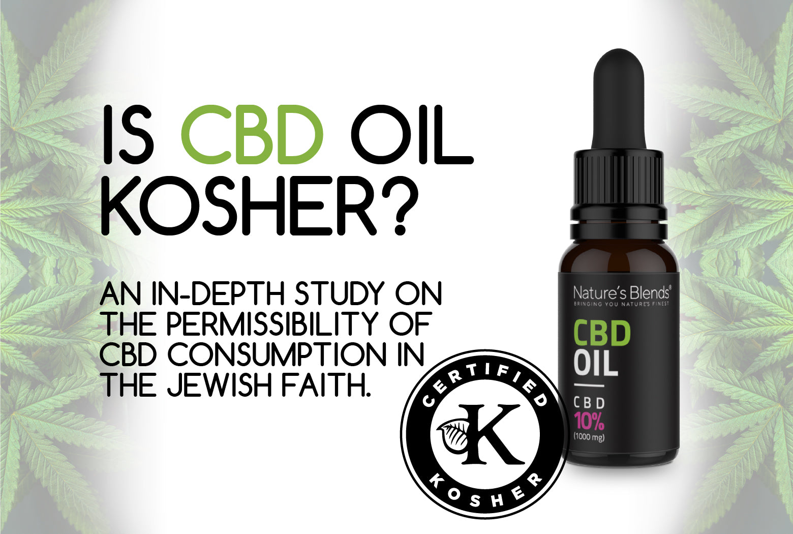 Is CBD Kosher banner for jewish community