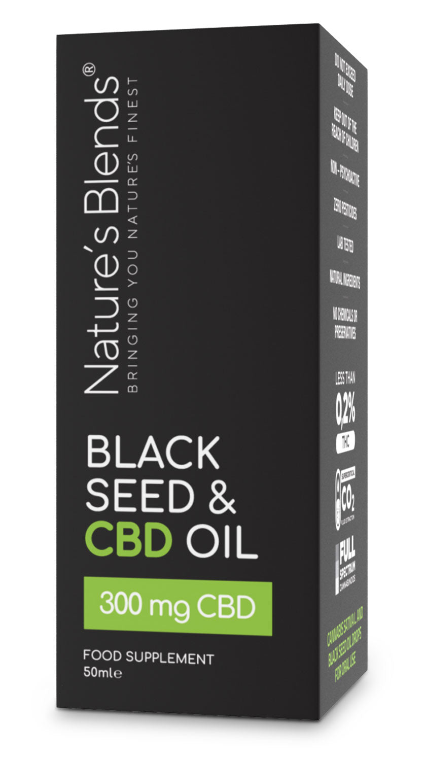 Black Seed and CBD Oil | 300mg | 50ml