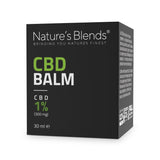 A 30ml packaging container of 300mg hemp cbd balm by natures blends