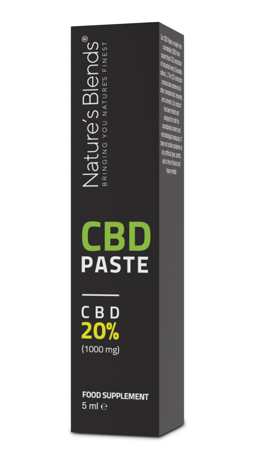 cbd hemp paste 20 percent strength mg