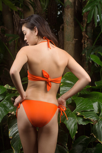 Isabel Top - Fire Coral