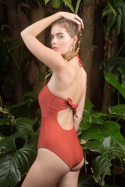Heather One Piece - Cedar