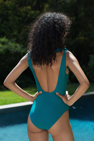 Sienna One Piece - Marine Blue
