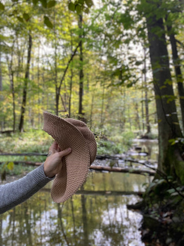 how to pack, flexible hat, packable hat, crushable hat, foldable hat, sun hats, nature, hiking accessories, camping gear