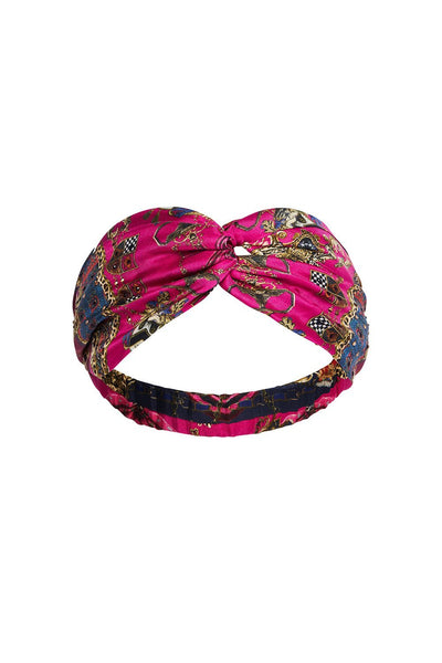 WOVEN TWIST HEADBAND DINING HALL DARLING