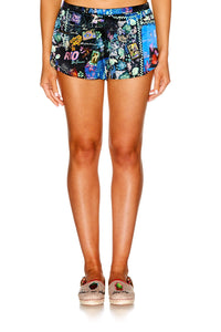 YOUVE GOT MAIL ELASTIC WAIST SHORTS