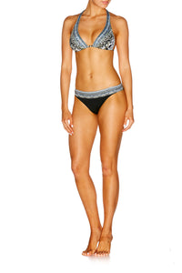 ANIMAL INSTINCT HALTER HIGH SLIDE TRI