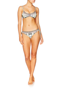 SPELL BOUND LACE UP BIKINI