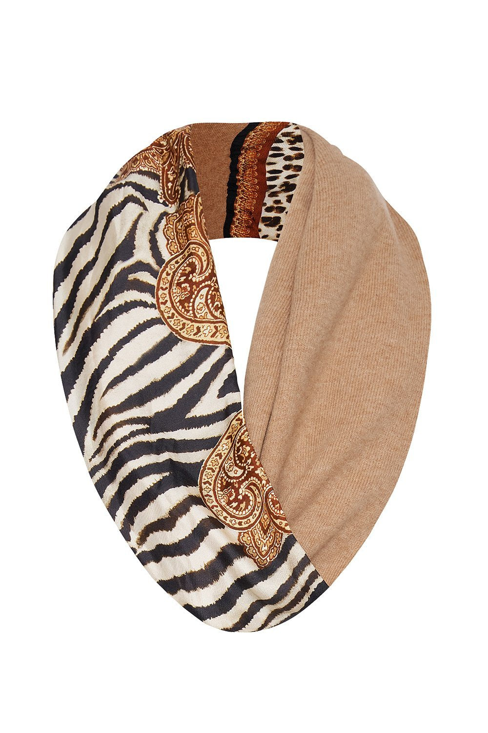 DOUBLE SIDED SCARF WILD FIRE