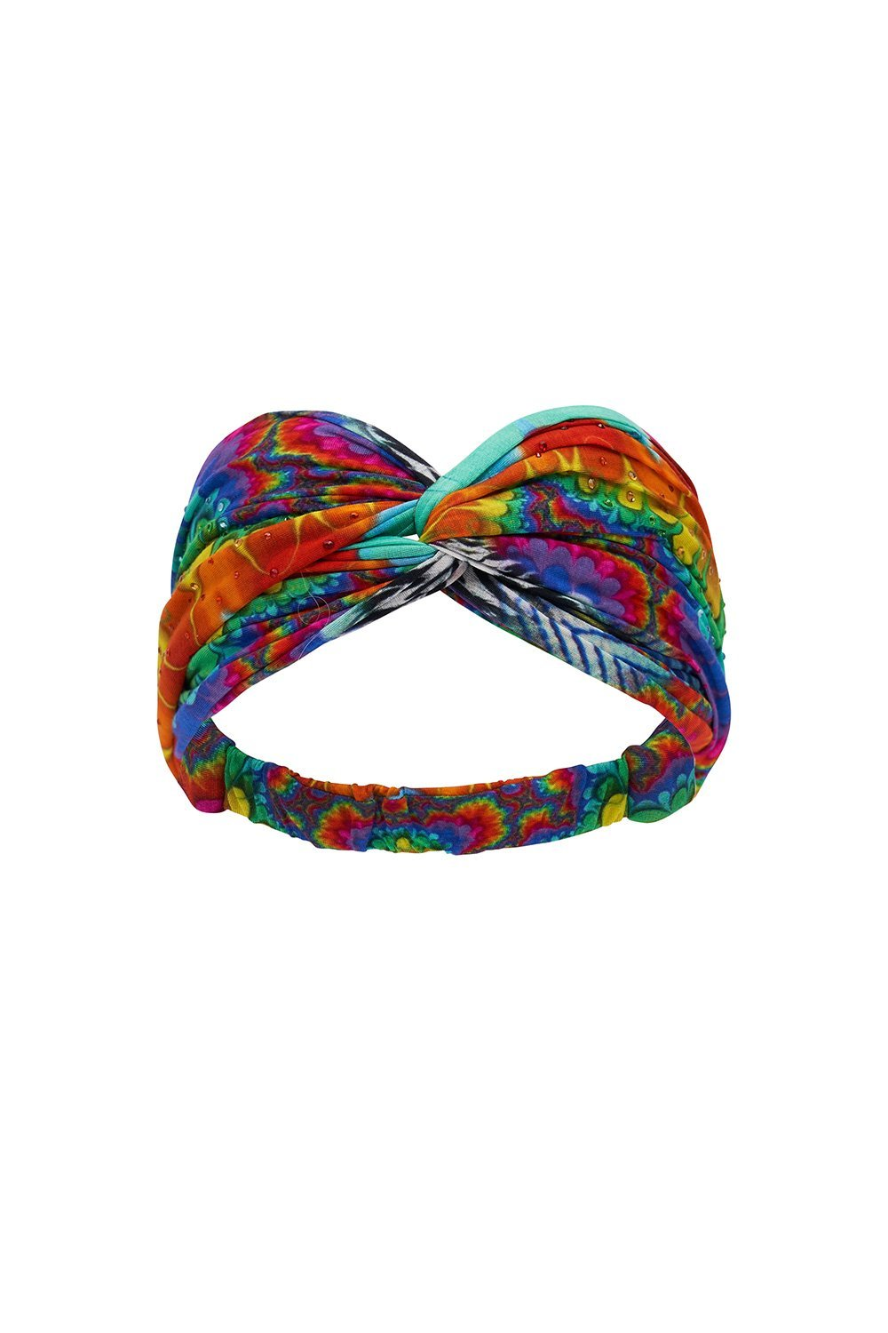 ACTIVE TWIST HEADBAND RAINBOW GATHERING