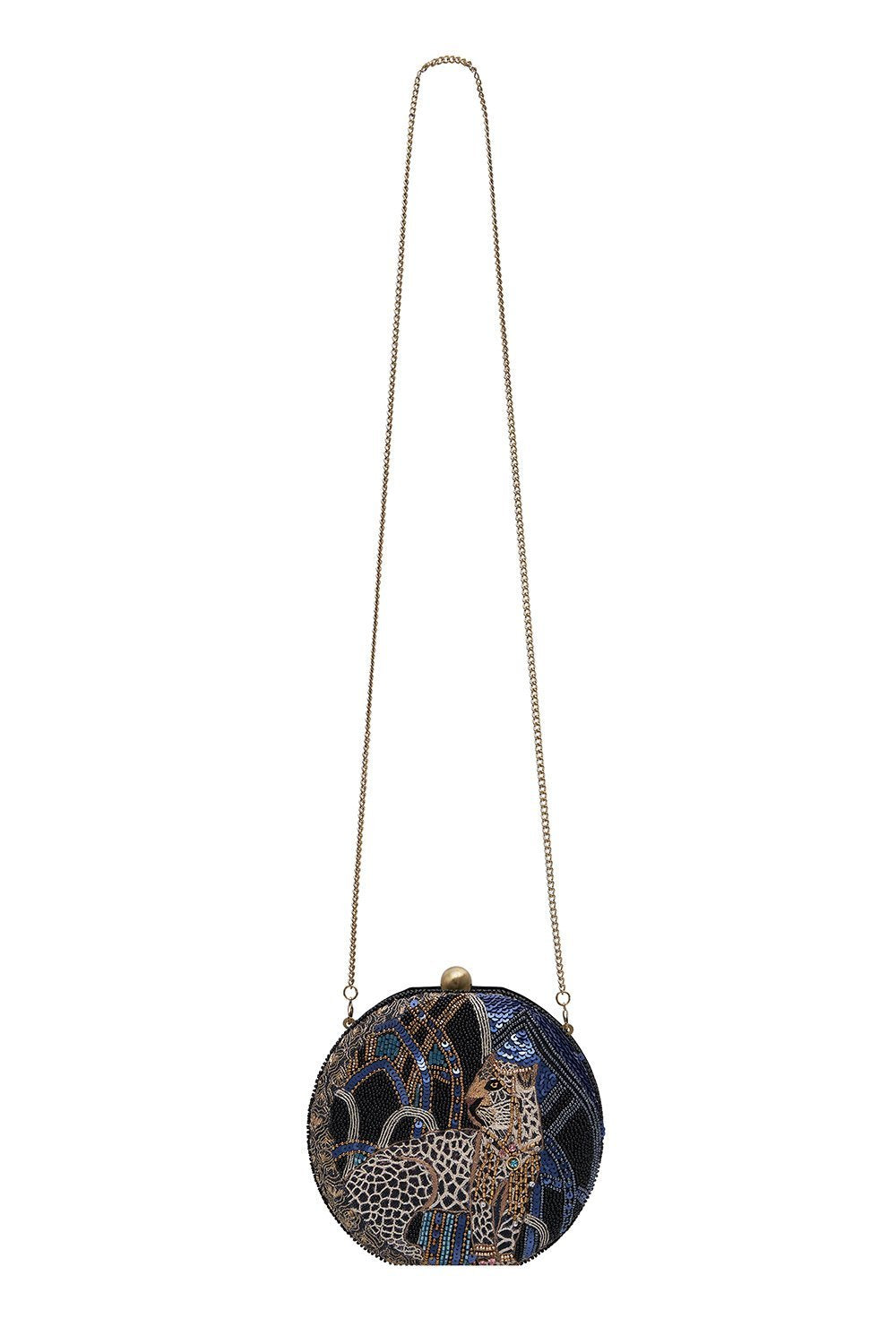 LEOPARD ORB BAG GREAT SCOTT