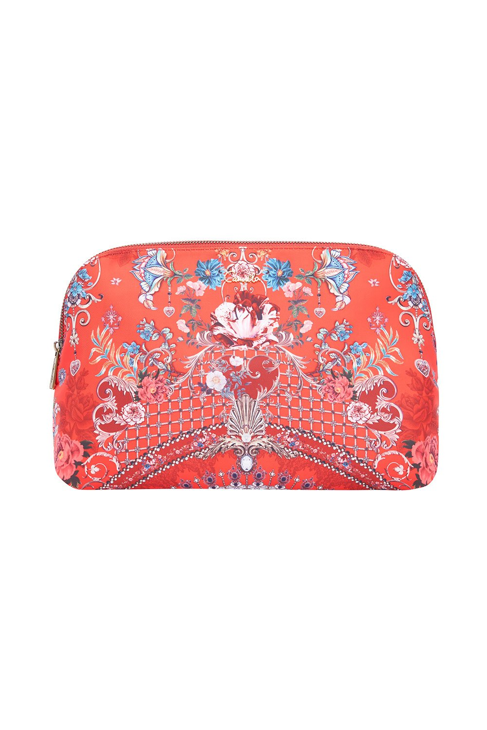 LARGE COSMETIC CASE CAMEOS CAN CAN