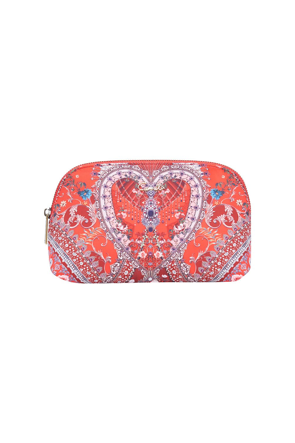 SMALL COSMETIC CASE CAMEOS CAN CAN