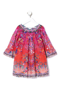 INFANTS YOKE TOP DRESS FREE LOVE