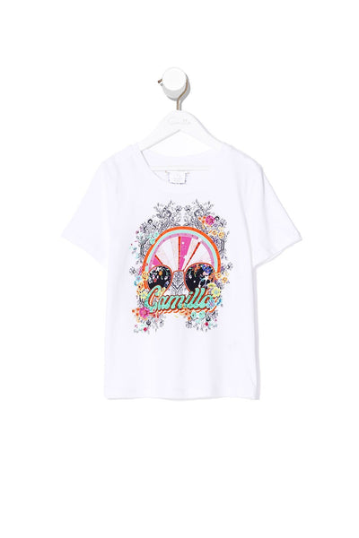 INFANTS SHORT SLEEVE T-SHIRT FREE LOVE