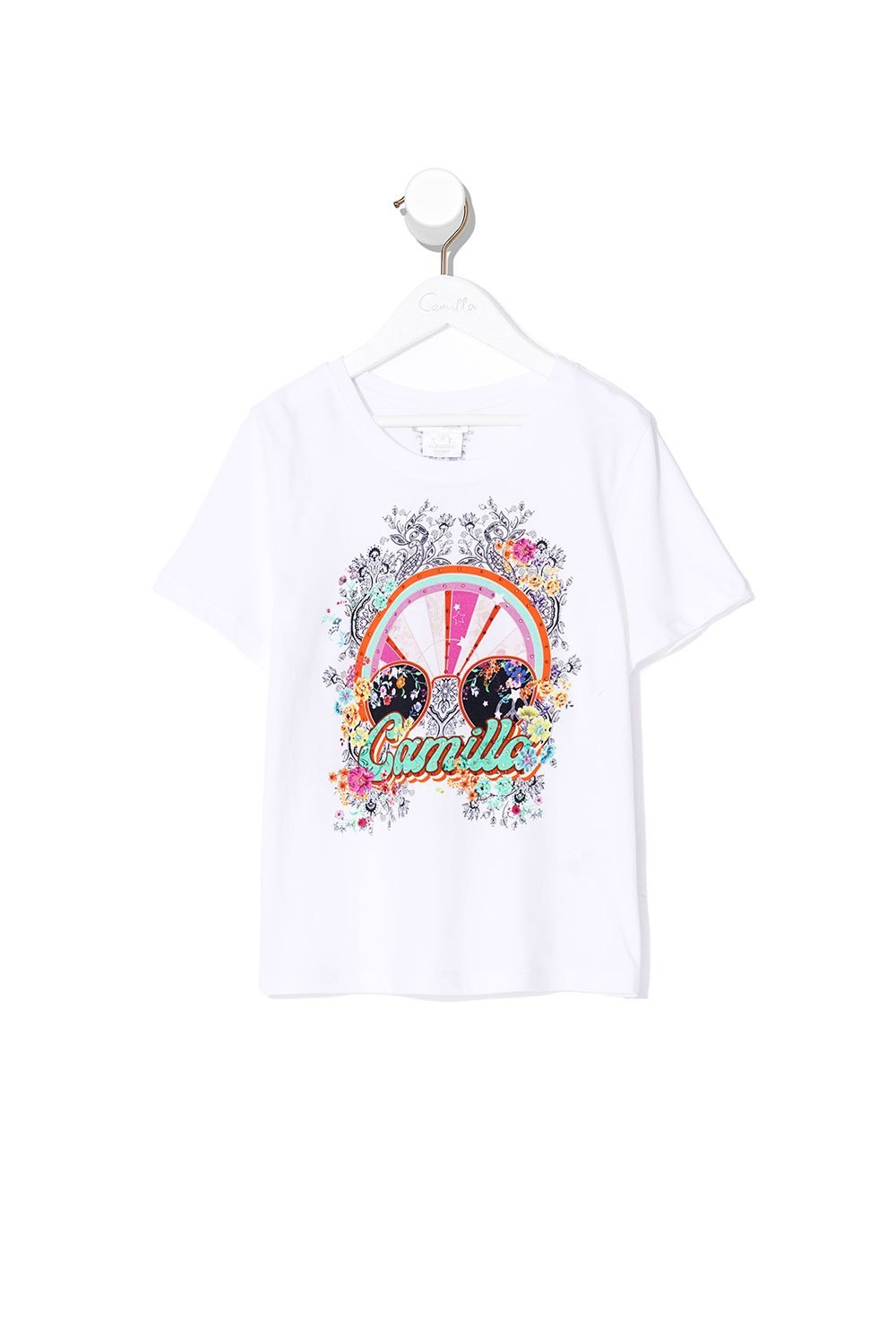 KIDS SHORT SLEEVE T-SHIRT FREE LOVE