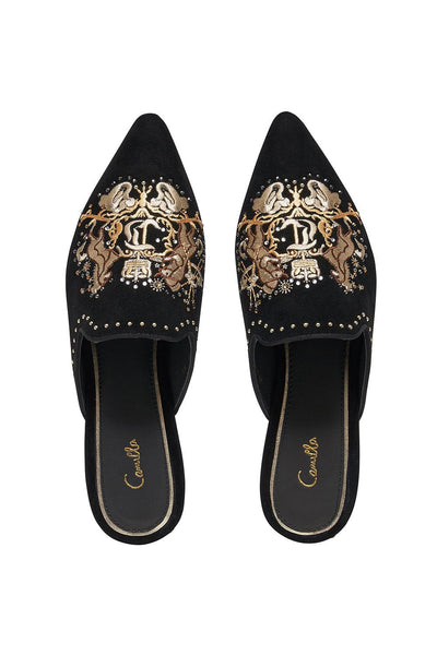 EMBROIDERED SLIPPER DINING HALL DARLING