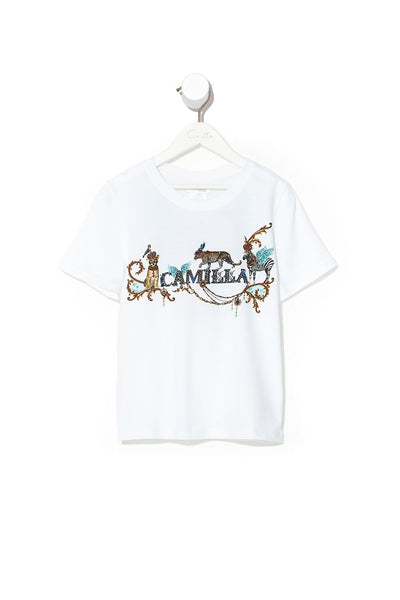 KIDS SHORT SLEEVE T-SHIRT 12-14 ANIMAL ARMY
