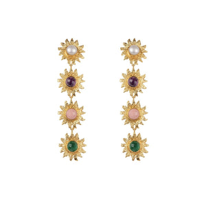 VALERE LEI III EARRINGS MULTI