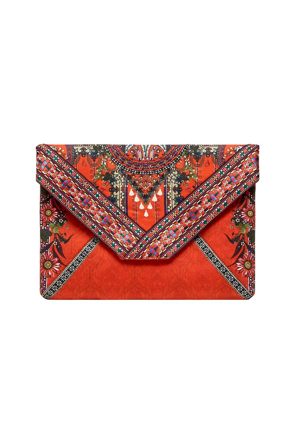 ENVELOPE CLUTCH WONDERING WARATAH