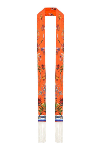LONG SKINNY SCARF GONE COAST