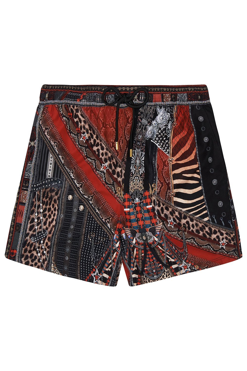 ELASTIC WAIST BOARDSHORT LONDON CALLING