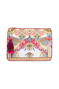 SMALL CANVAS CLUTCH MONTMARTRE HEART