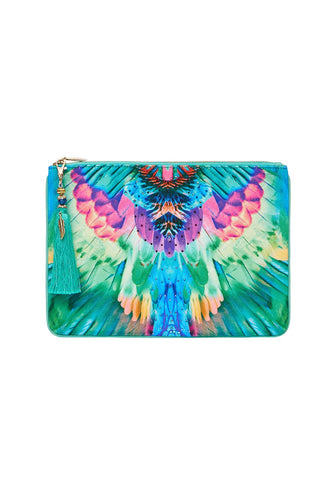 SMALL CANVAS CLUTCH MOTHER XANADU