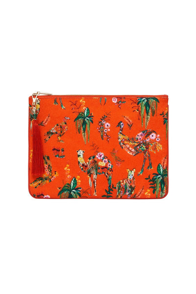 SMALL CANVAS CLUTCH CINEMA PARADISO