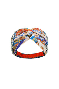 WOVEN TWIST HEADBAND GONE COAST