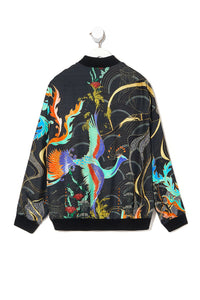 MENS BOMBER JACKET WISE WINGS