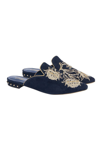 AUS EMBROIDERED SLIPPER SOUTHERN TWILIGHT