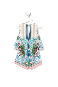 INFANTS DOUBLE LAYER PLAYSUIT BEACH SHACK