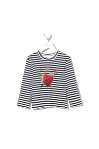 KIDS' LONG SLEEVE TOP SOUTHERN BELLE