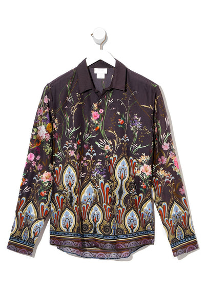 LONG SLEEVE COLLARED SHIRT WILD FLOWER