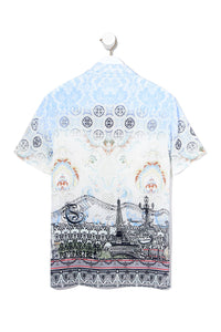 MEN'S SHORT SLV SHIRT MEET ME IN MONTMARTRE