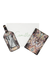 PASSPORT HOLDER AND LUGGAGE TAG MATERNAL INSTINCT