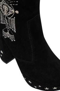 PLATFORM BOOT SOLID BLACK