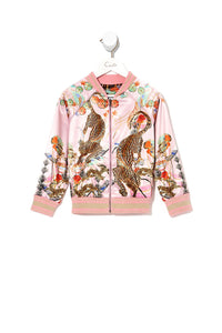 KIDS REVERSIBLE BOMBER JACKET ZIBA ZIBA