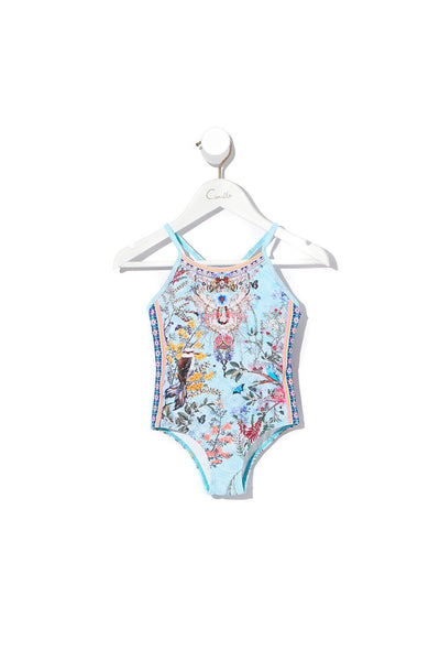 KIDS ROUND NECK ONE PIECE MILLAS BACKYARD