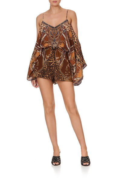 DROP SHOULDER PLAYSUIT LADY LODGE
