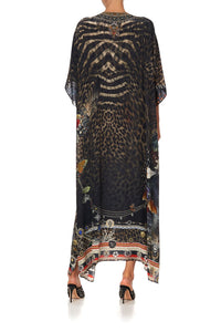 LACE UP KAFTAN TREASURE CHASER