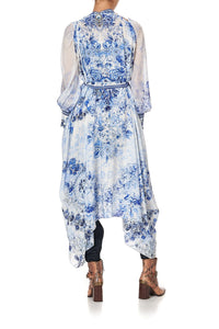 MULTIWEAR DRAPED LAYER HIGH TEA