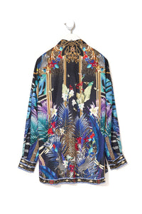 MENS OVERSIZED SHIRT RAINBOW ROOM