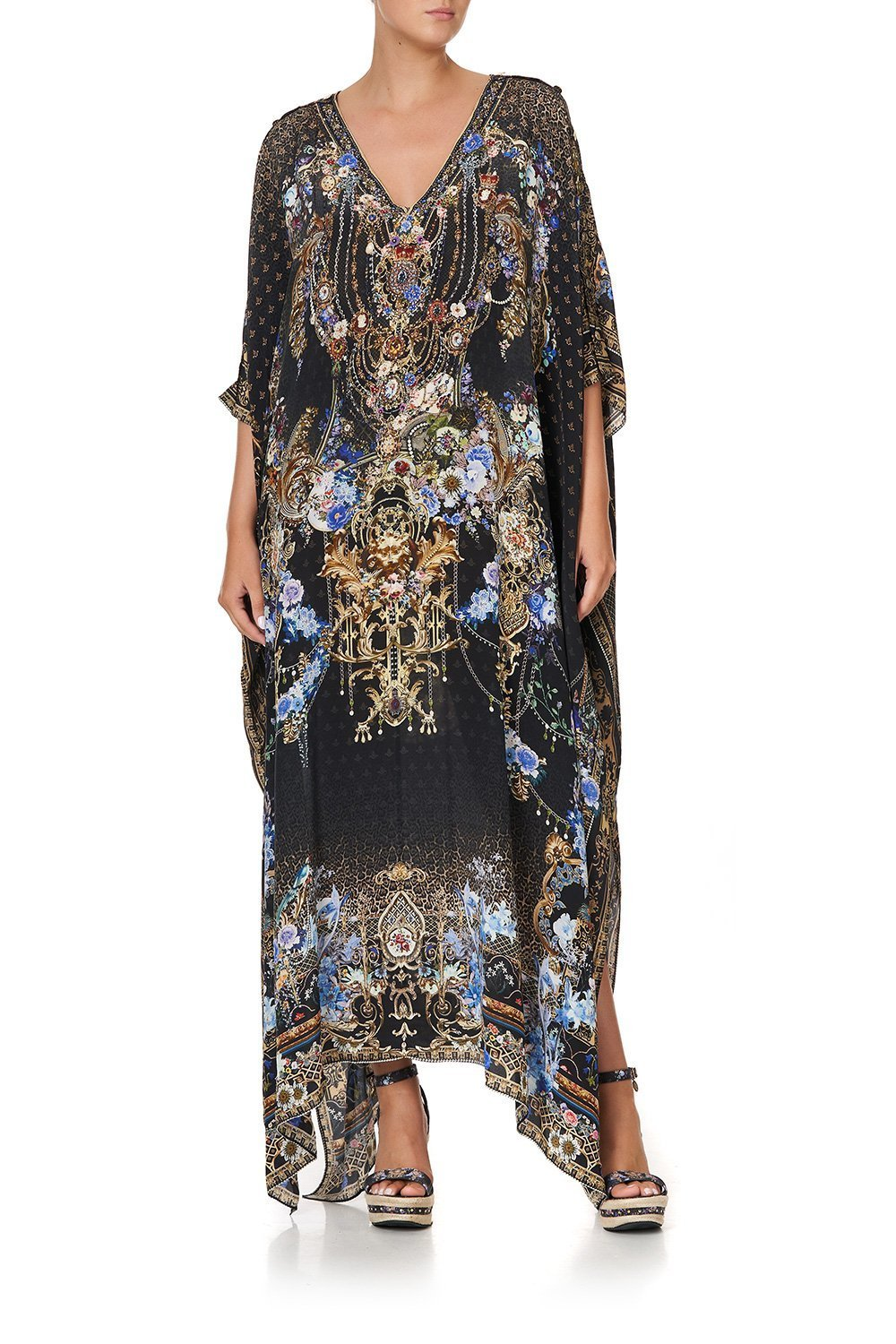 LONG KAFTAN WITH BUTTONS PALACE PLAYHOUSE