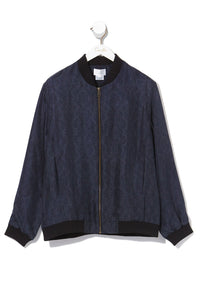 MENS BOMBER JACKET MIDNIGHT MEETING