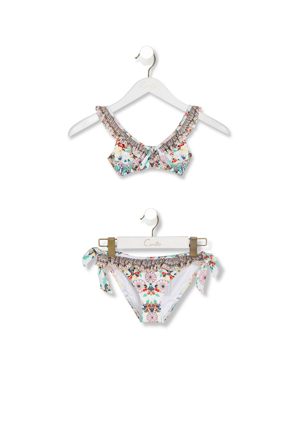 KIDS' FRILL BIKINI TIME AFTER TIME