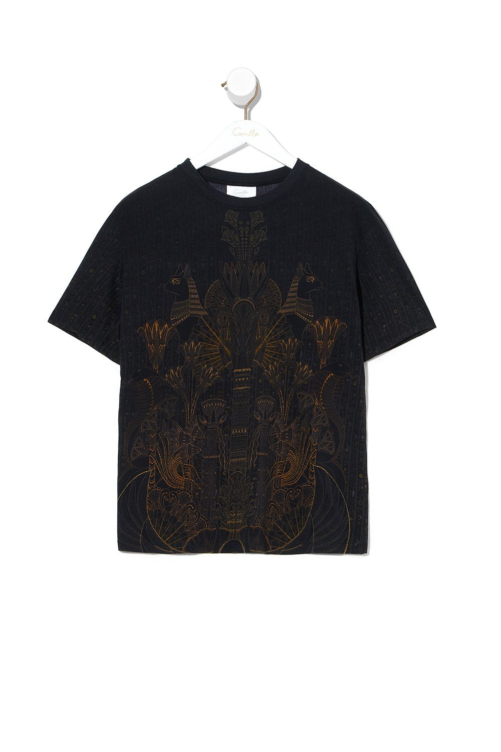 ROUND NECK T SHIRT COBRA KING